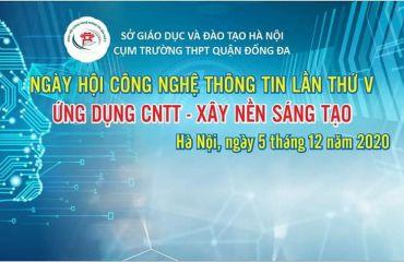 Ngày hội CNTT cấp cụm trường THPT Đống Đa