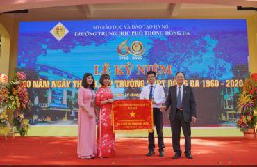 Trường THPT đầu tiên mang tên quận Đống Đa kỷ niệm 60 năm thành lập