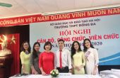 HỘI NGHỊ CBCC- VC NĂM HỌC 2019-2020