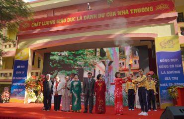 Lễ kỷ niệm 60 năm thành lập trường THPT Đống Đa